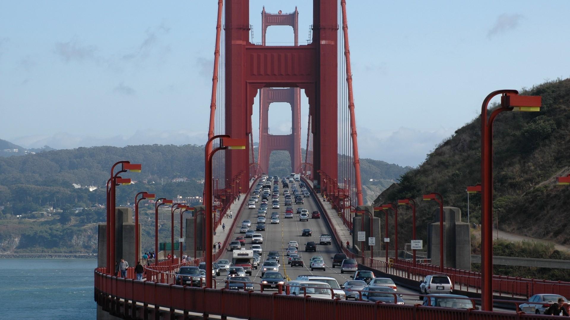 Download Wallpaper 1920x1080 Golden Gate Bridge San Francisco