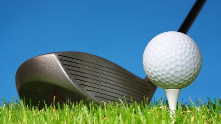 golf, stick, ball