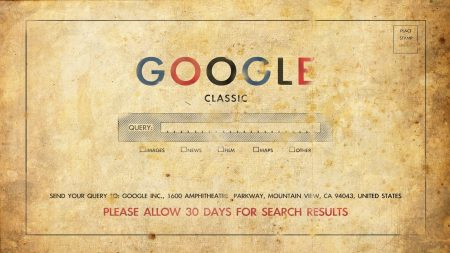 google, classic, old