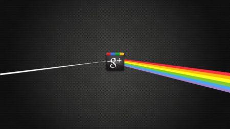 google, rainbow, black