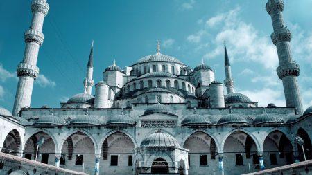 grand mosque, sultanahmet mosque, istanbul