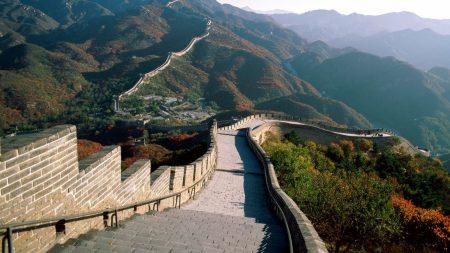 great wall, wall of china, china