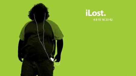 green, black, lost