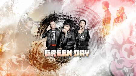 green day, band, graphics