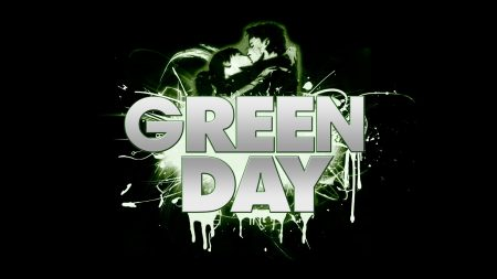 green day, letters, darkness