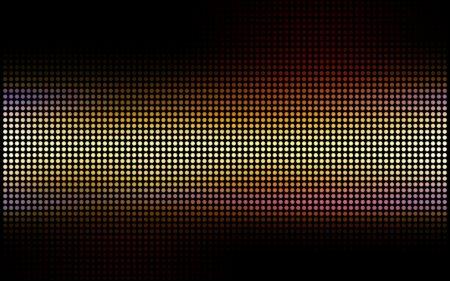 grid, circles, dots