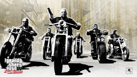 gta 4 lost and damned, grand theft auto 4 lost and damned, bikers