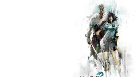 guild wars 2, man, female