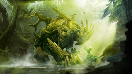 guild wars, monster, forest