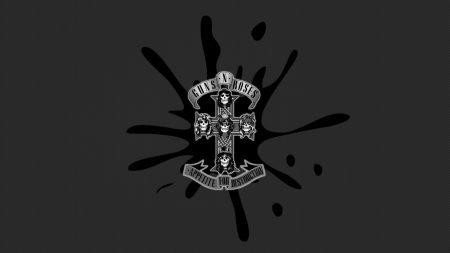 guns n roses, spot, cross