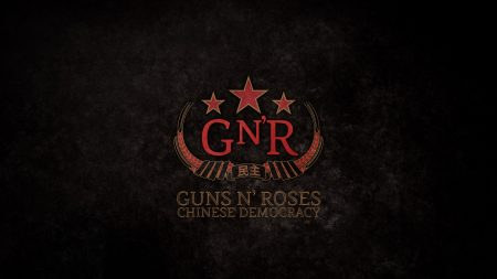 guns n roses, stars, letters