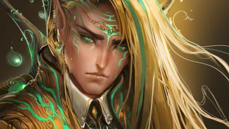 guy, elf, eyes