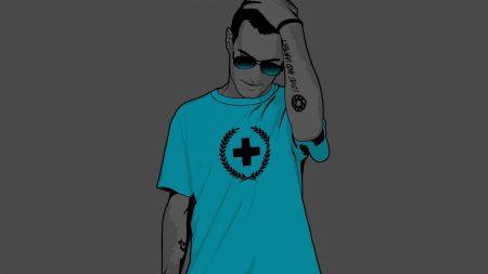 guy, style, t-shirt