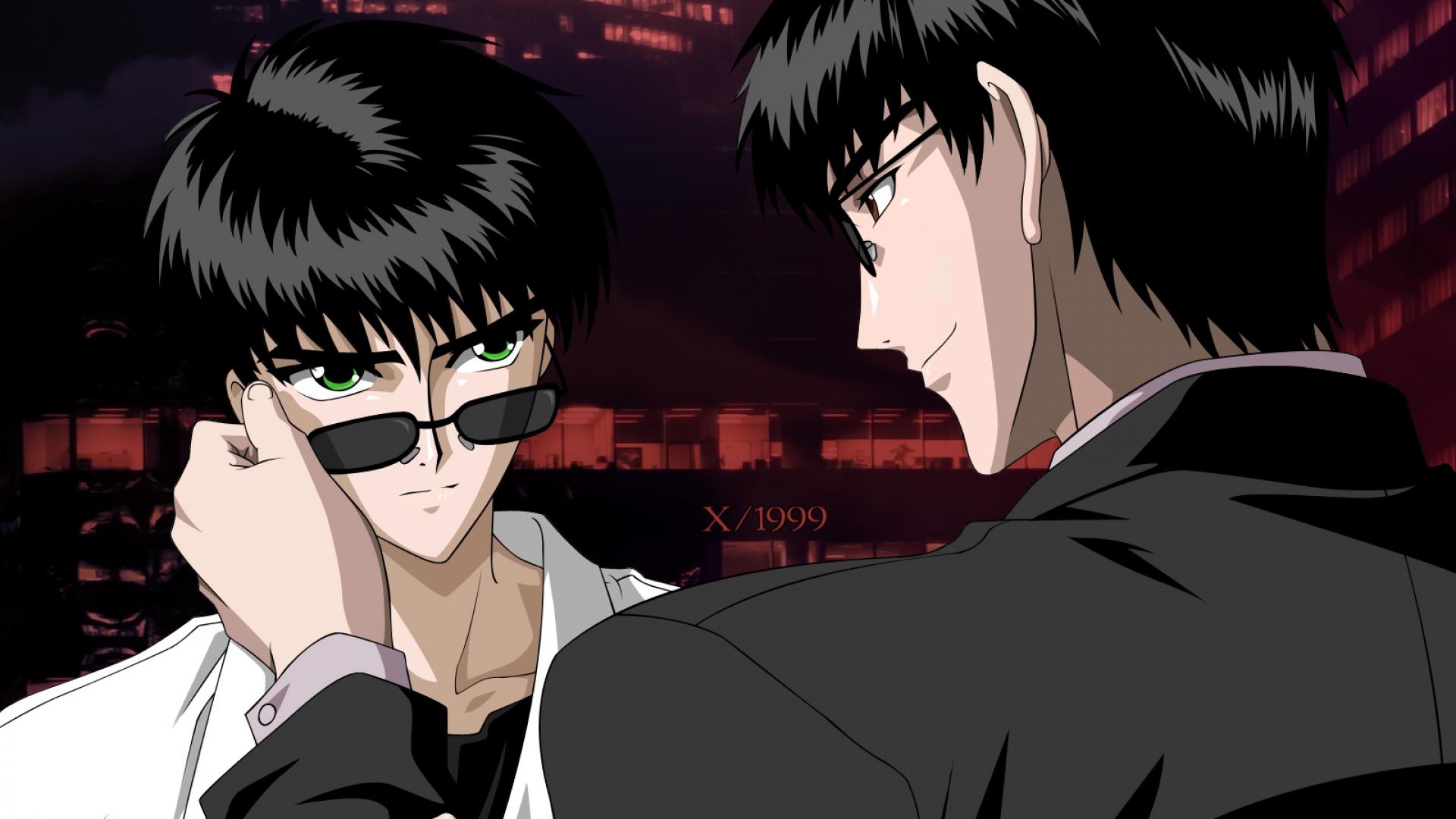 guys, sunglasses, suits