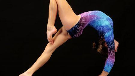 gymnastics, deflection, sportswoman
