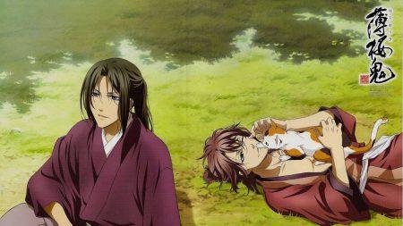 hakuouki, guys, kimono