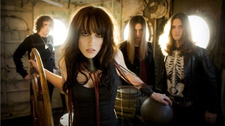 halestorm, girl, band