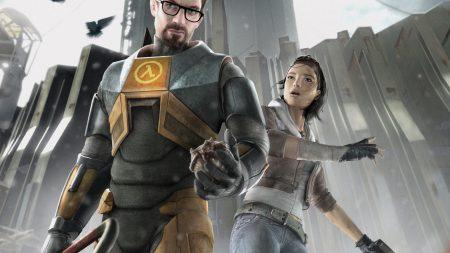 half-life 2, gordon freeman, alyx vance