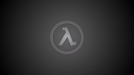 half-life, emblem, background