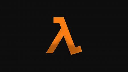 half-life, emblem, orange