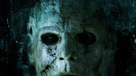 halloween 2, michael myers, face