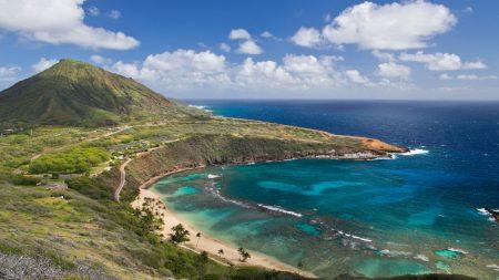 hanauma bay, oahu island, hawai
