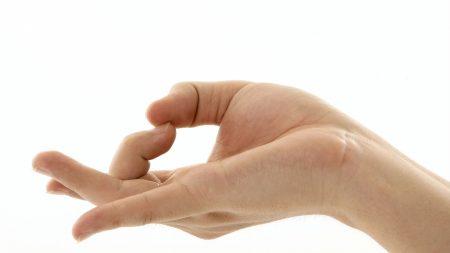 hand, gesture, well