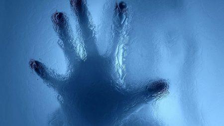 hand, glass, palm