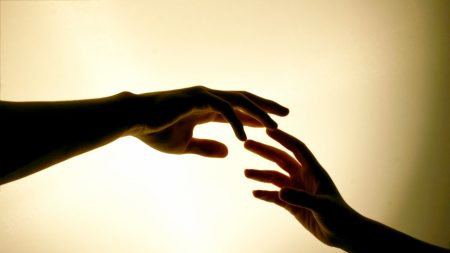 hands, pair, touch