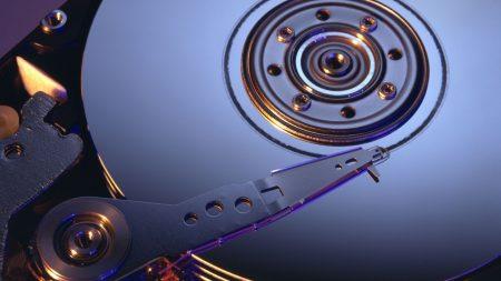hard drive, mechanism, light
