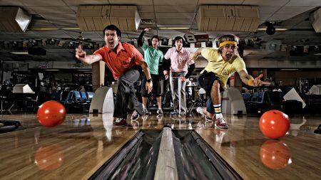 hawk nelson, bowling, game