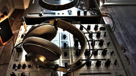 headphones, console, acoustics