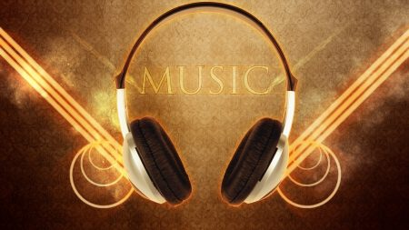 headphones, lines, membranes