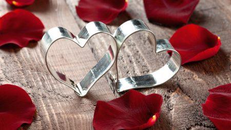 heart, gift, metal