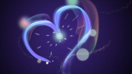 heart, light, shape