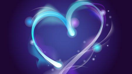 heart, lilac, purple