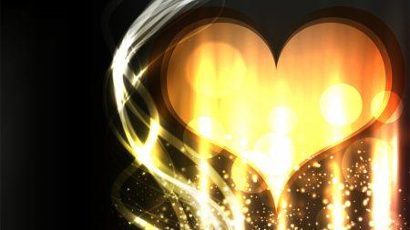 heart, love, light