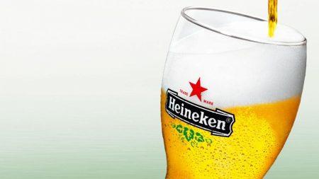 heineken, beer, foam