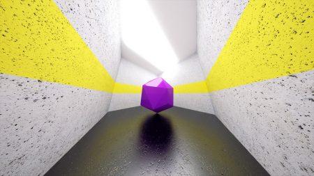 hexagonal, space, shape