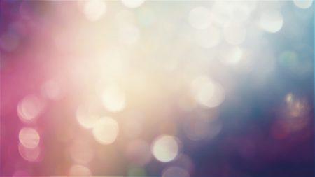 highlights, circles, blurred