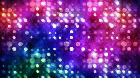 highlights, circles, colored