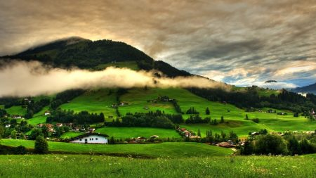 hills, mountains, home