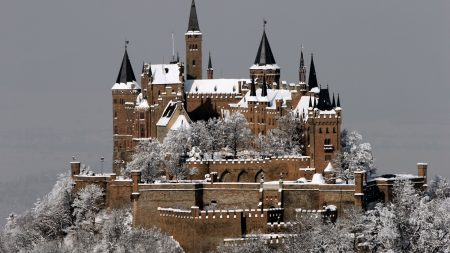 hohenzollern castle, germany, top