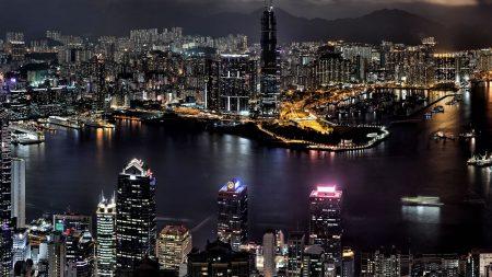 hong kong, high-rise, buildings
