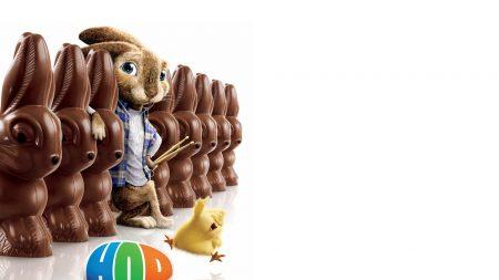 hop, rabbit, chocolate