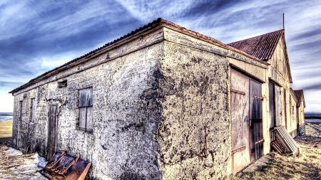 house, walls, windows