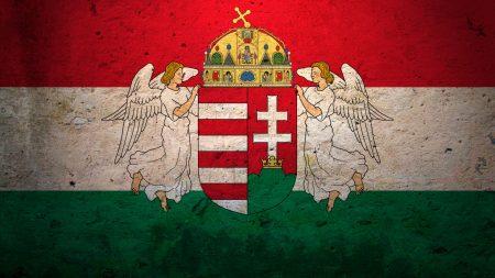 hungary, flag, background