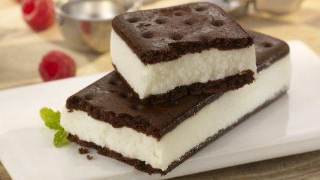 ice-cream, sandwich, mint