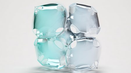 ice, cube, form
