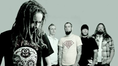 in flames, dreadlocks, t-shirts